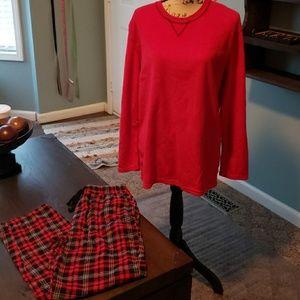 New IZOD Pajama Set